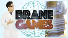 Brane Games: What Color is the Dress? - OH MY GOSH THIS WAS BRILLIANT I LOVE THIS