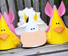 Farm Animal Kid's Birthday Party Ideas