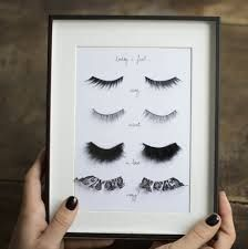 DIY Fake Eyelashes Wall Art Tutorial from Make My Lemonade... (TrueBlueMeAndYou…