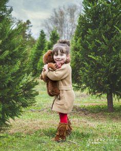 Christmas Tree Farm Portraits   Greenville SC Children   J ...
