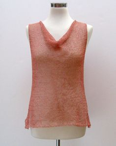 Gretel- by Coco Knits, perfect for the hot hot summer and looks great in Isager Bomould or Habu Cotton Gima