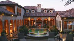 Dream House and patio and pool courtyard!!! Texas Summer Bliss!