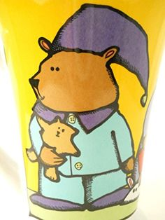 Ursula Dodge Coffee Mug Cartoon Bears Nightcaps Bunny Slippers Cocoa Robes Color Best Coffee Mugs, Coffee Coffee, Coffee Cups, Dodge, Bunny Slippers, Bear Cartoon, Cool Mugs, Vintage Disney, Ursula
