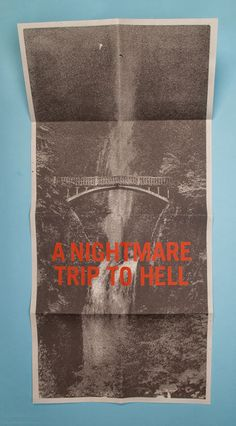 Morey Talmor – Graphic Design | A NIGHTMARE TRIP TO HELL