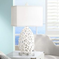 When you begin to coastal decor a space for a child, use the kid's perspective when decorating it. Remember that a kid does not view a room in a similar manner that you view it. Ocean Home Decor, Beach Bedroom Decor, Beach House Decor, Coastal Decor, Coastal Nursery, Coastal Interior, Beach Condo, Beach Houses, Coastal Style