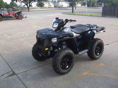 New 2017 Polaris Sportsman 570 SP Stealth Black ATVs For Sale in Texas.