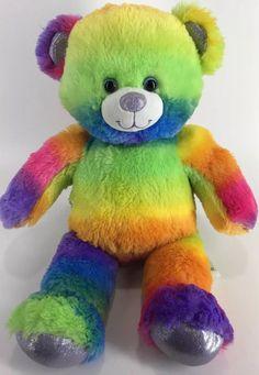 Build A Bear Plush Bright Rainbow Purple Sparkle Stuffed Animal Toy Workshop Toy Workshop, October Sky, Purple Sparkle, Build A Bear, Stuffed Toy, Pet Toys, Giraffe, Dinosaur Stuffed Animal, Plush