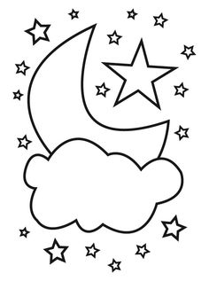 Space Coloring pages for kids. Space Coloring Pages, Coloring Sheets, Coloring Books, Drawing For Kids, Art For Kids, Dibujos Baby Shower, Ramadan Activities, Islam For Kids, Ramadan Decorations