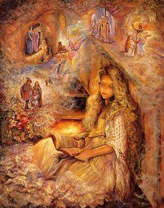 """Stairway of Dreams 3"" par Josephine Wall"