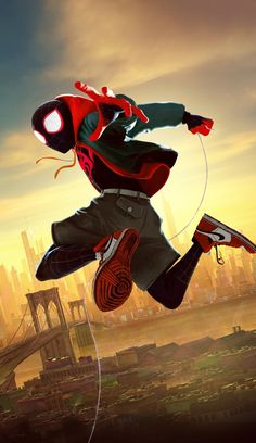 🎈 Oscar / SPIDERMAN - in to spider verse ( nominee Best Animated Feature ) by Peter Ramsay & Chris ( Marvel Art, Marvel Dc Comics, Marvel Heroes, Marvel Avengers, Spiderman Spider, Amazing Spiderman, Man Wallpaper, Marvel Wallpaper, 1080p Wallpaper