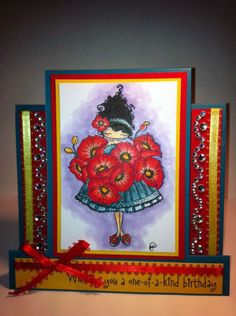 Lulu Loves Poppies - Take Two by mklieber - Cards and Paper Crafts at Splitcoaststampers