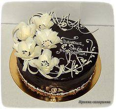 торт с глазурью и цветами - Поиск в Google