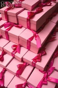 `lots of pink presents