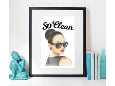 Digital Prints, Unique Jewelry, Frame, Handmade Gifts, How To Make, Etsy, Vintage, Home Decor, Art