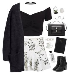 """""""It's been too long"""" by bomlion ❤ liked on Polyvore featuring NLY Trend, H&M, rag & bone, Balenciaga, Forever 21, Diptyque, Ray-Ban, Prada, Zara Home and Sur La Table"""