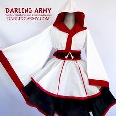 Assassin's Love Lolita Kimono Dress