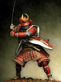 Samurai in armatura