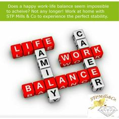 Work from home Work Life Balance, Be Your Own Boss, Job S