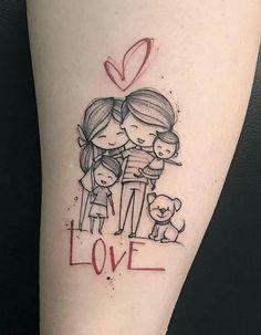Family tattoo by michele mercuri mom tattoos, little tattoos, dream tattoos, Tattoos For Kids, Family Tattoos, Tattoos For Daughters, Little Tattoos, Tattoos For Women, Mother Tattoos For Children, Tattoo Kids, Mama Tattoos, Body Art Tattoos