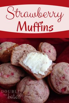 Delicious Strawberry Muffins with an ever so slight healthy twist. (scheduled via http://www.tailwindapp.com?utm_source=pinterest&utm_medium=twpin&utm_content=post1353709&utm_campaign=scheduler_attribution)