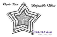Tutorial Impossible 3D Peyote Star + Basic Tutorial Little 3D Peyote Star (download link per e-mail) - DiMarca Online