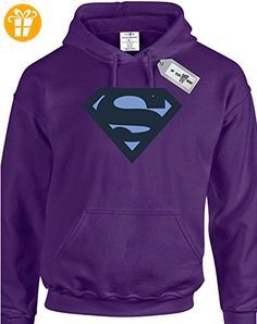Eat Sleep Shop Repeat Herren Kapuzenpullover Small Gr. M, violett (*Partner-Link)
