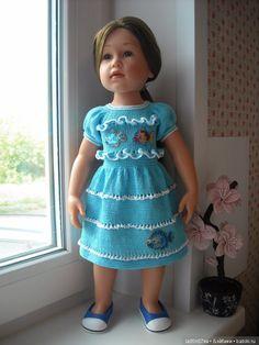 Лето в разгаре! Летние платья для кукол Gotz / Одежда для кукол / Шопик. Продать купить куклу / Бэйбики. Куклы фото. Одежда для кукол