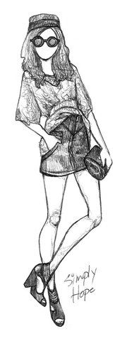 tr_nhan uploaded this image to 'drawings'. See the album on Photobucket. Amazing Drawings, Cool Drawings, Amazing Art, Clothing Sketches, Fashion Sketches, Drawing Clothes, Drawing People, Drawing Sketches, Fashion Art