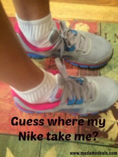 Guess where my NIKE take me? + Find out how to get FREE 2-Day Shipping #NikeFreeShip #ad http://madamedeals.com/?p=491906