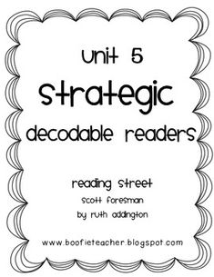Decodable Readers and Questions for Reading Street- Tippy