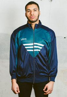 Vintage 90s Adidas Tracksuit Jacket, 28.99 £ available at ASOS.MP/NORTHERNGRIP #asosmarketplace