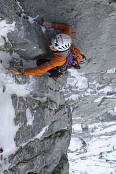 Ueli Steck, Eiger Face Nord, Voie Heckmair, record de vitesse  en 2:47:33 hours, solo