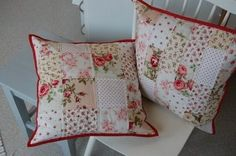 Quilted Pillows by Ana Oliva