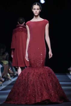 Georges Hobeika Fall Winter Haute Couture 2013 Paris
