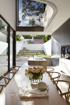 Australian architectural firm Smart Design Studio has completed the Tusculum Residence in 2010