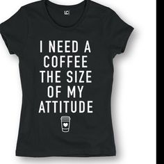 Coffee Lovers Tee New. Size Small-XL. Not Zara. Zara Tops Tees - Short Sleeve