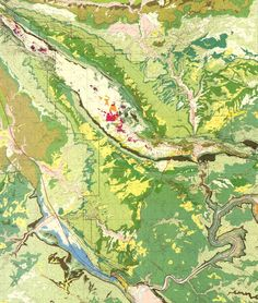Arches National Park, Map: USGS. [high-resolution version with explanation (6.5 MB)]
