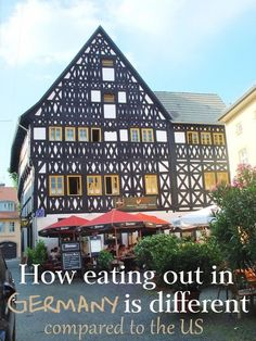17 Ways the German Restaurant Experience Is Different Compared to the US. Photo by Hellebardius on F Germany Poland, Stuttgart Germany, Visit Germany, Bavaria Germany, Berlin Germany, Moving To Germany, Germany Travel, Trip To Germany, European Vacation