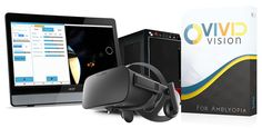 Vivid Vision rewires the brain with virtual reality to help patients see vividly!
