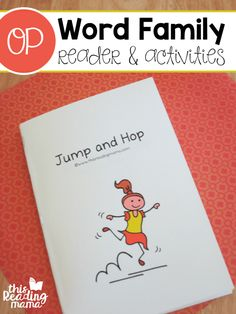OP Word Family Reader and Activities (FREE) from Learn to Read - This Reading Mama