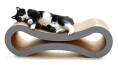 Cat Tree Buying Guide - Kitty Mansions Rome Cat Tree - Multi Cat Jungle Gym Large - Lotus Cat Tower Used - Sebastian Cat Tree - Best Cat Trees Cool Cat Trees, Cool Cats, Cardboard Furniture, Recycled Furniture, Cat Jungle Gym, Cat Towers, Cat Scratcher, Cat Food, Animal Design