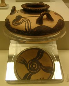 Mycenaean Alabastron by diffendale, via Flickr