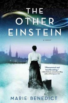 An overlooked woman of science: The Other Einstein is a novel in the spirit of The Paris Wife and Mrs. The other Einstein: Mileva Maric was a fascinating, brilliant physicist in her own right. She was, in fact, the other Einstein. I Love Books, Great Books, New Books, Books To Read, Fall Books, Neil Gaiman, Haunting Stories, Historical Fiction Books, Literary Fiction