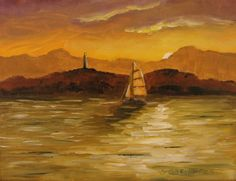 "ArtStation - ""sailing back home"", Sebastian Garyantesiewicz"