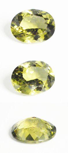 Kornerupine 168167: 1.37 Cts Loose Gem 100%Natural Oval Cut Green Konerupine Gemstone Ceylon-17633 -> BUY IT NOW ONLY: $49 on eBay!