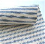 calico, batiste, duck cloth, ticking for dress making Ticking Fabric, Flannel Dress, Blue Quilts, Ticks, Blue Stripes, Dress Making, Blue Denim, Cotton Fabric, Light Blue
