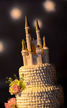 No cake is complete without an edible chocolate castle cake topper which always adds just the perfect touch of Disney