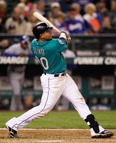 Miguel Olivo's homer, Justin Smoak's three hits lift #Mariners to 6-3 win over Rangers in opener. 9/21/12