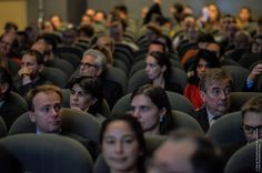 Press and partners filled the auditorium to see the #SDE2014 launch by @CecileDuflot.