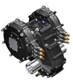 YASA motor with Xtrac gearbox with torque vectoring